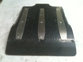 Ford Escort Mk 2 Carbon Sump Guard. RT1558/FU