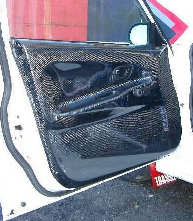 Mitsubishi Evo 4-6 Carbon Front Door Card L/H. RT0149/MI