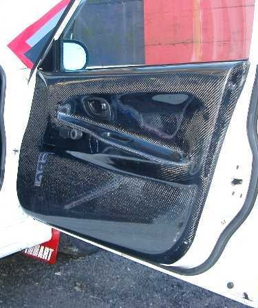 Mitsubishi Evo 4-6 Carbon Front Door Card R/H. RT0148/MI