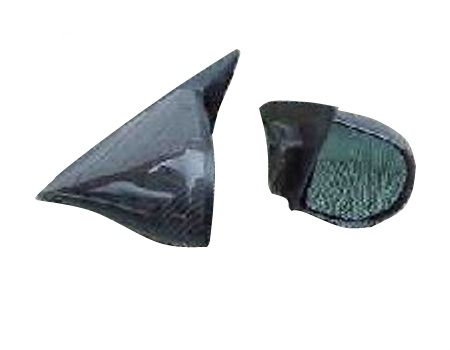 Mitsubishi Evo 4-6 Gp A Carbon Mirrors (Pair). RT0015&0016