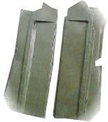 Mitsubishi Evo 5/6 gravel floorguards, pair