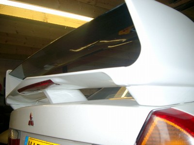 Mitsubishi Evo 6 Wing Base. RT0055/ME