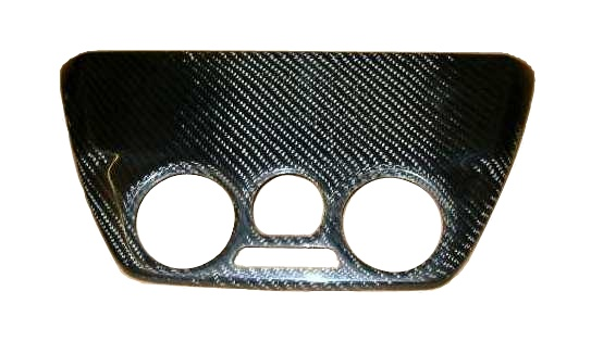 Mitsubishi Evo 7,8 Carbon Radio Cover. RT0158/MI