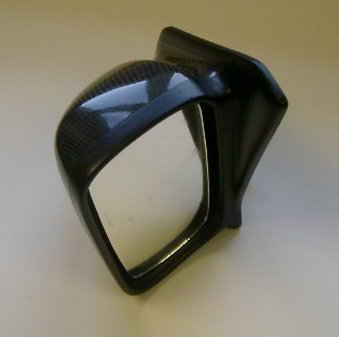 Mitsubishi Evo 9 WRC mirrors carbon Type 2 pair